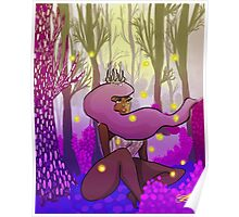 Woodland Princess Poster