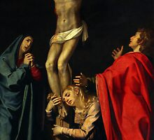 Jesus on the Cross by muniralawi
