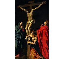 Jesus on the Cross Photographic Print