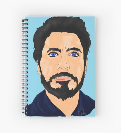 Zeus Spiral Notebook