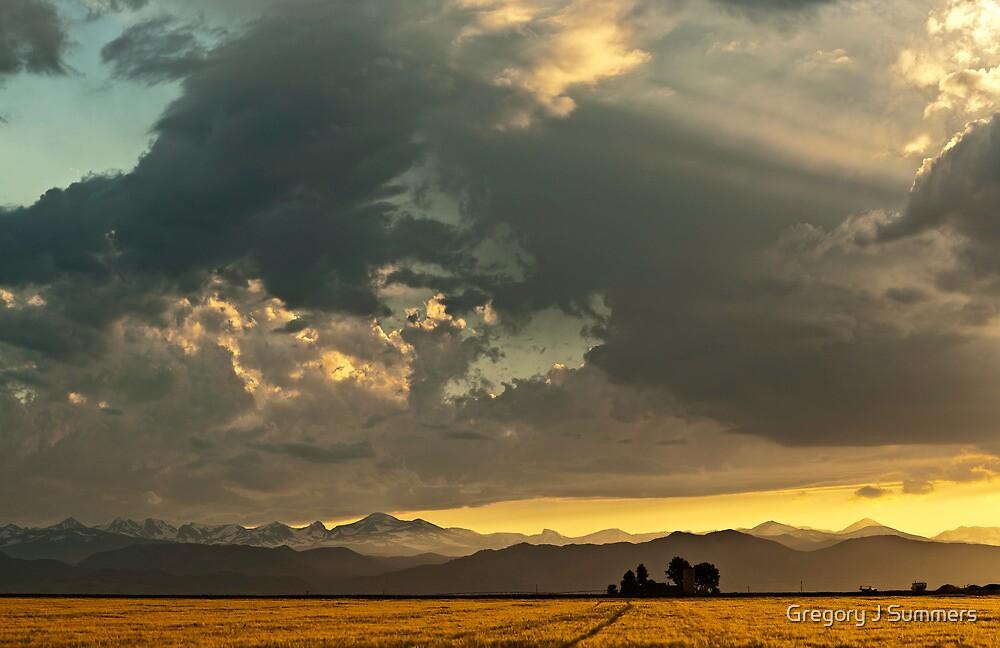 Sunset and Turmoil by nikongreg