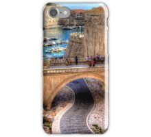 Path to the harbour iPhone Case/Skin