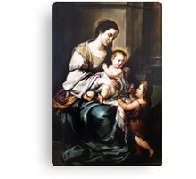 Playful jesus Canvas Print