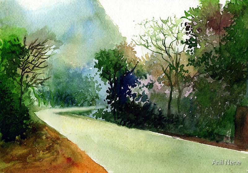 Turn Right by Anil Nene