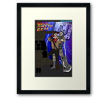 Back to the Metal Gear Framed Print