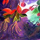 Red Flowers by Anil Nene