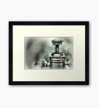 An Improvisation... Framed Print