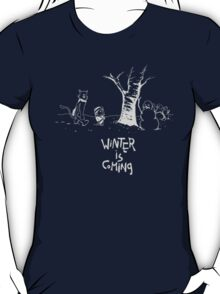 Jon and Ghost (dark shirts) T-Shirt