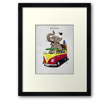 Pack the Trunk Framed Print