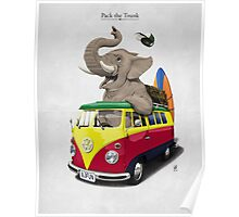 Pack the Trunk Poster