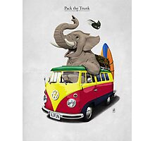 Pack the Trunk Photographic Print
