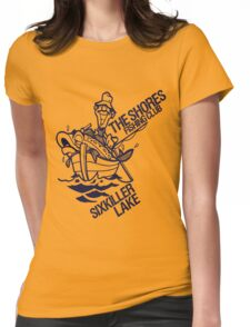 Sixkiller Lake Womens Fitted T-Shirt