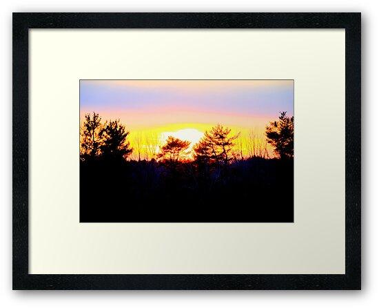 A Powerful Sunset by daphsam