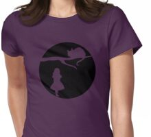 Alice in Wonderland. Womens Fitted T-Shirt
