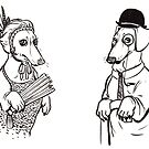 Stately Sausages by Danelle Malan