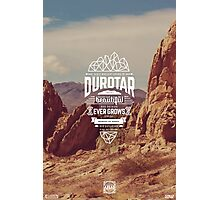 Durotar - World of Warcraft ATLAS Staring Zone Tourism Travel Poster Series, Typography & Photography Photographic Print