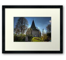 Blackness Mission Church Framed Print