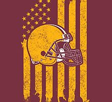 Show Your Love For Washington Football. by aestheticarts