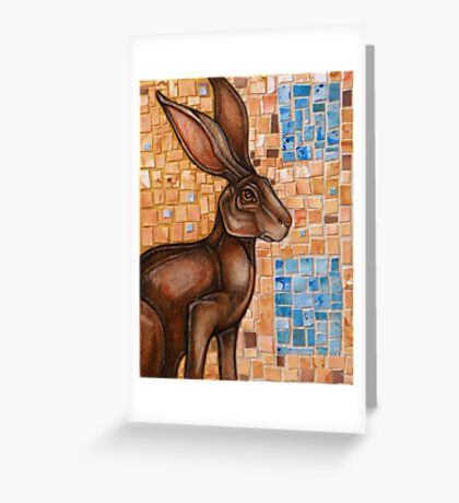 All Things That Love the Sun (The Brown Hare) Greeting Card
