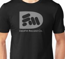 "DeaFM Record Co. - ""Bass"" Logo Unisex T-Shirt"