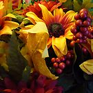 Warm Flowers On A Cold Winter's Day by Bea Godbee
