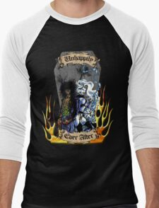 Unhappily Ever After - Lady Death & Evil Ernie Men's Baseball ¾ T-Shirt