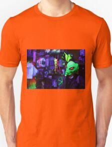 alien abduction glowing photo Unisex T-Shirt