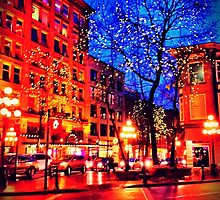 Gastown At Christmas Time by RockstarJedi