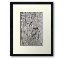 Swaggie at rest. Framed Print