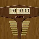 Pre-Transistor Radio - Falcon by ubiquitoid