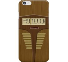 Pre-Transistor Radio - Falcon iPhone Case/Skin