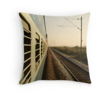 Eastbound  Throw Pillow