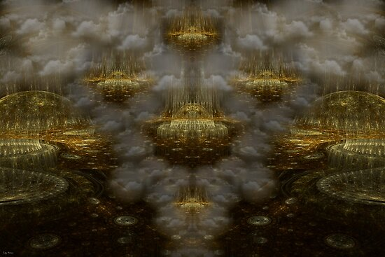 The Highest Realms by Craig Hitchens - Spiritual Digital Art
