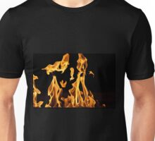Dancing Flames Unisex T-Shirt