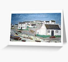 Mind Images of Waenhuiskrans, Overberg, Cape Province, South Africa Greeting Card