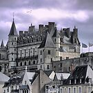 The Chateau late in the day. by Larry Lingard-Davis