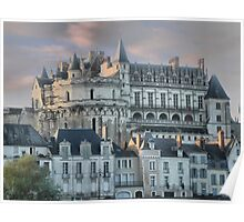 The Chateau Amboise on High Poster