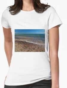 Encroaching Surf Womens Fitted T-Shirt