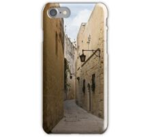 The Silent City - Mdina, the Ancient Capital of Malta iPhone Case/Skin
