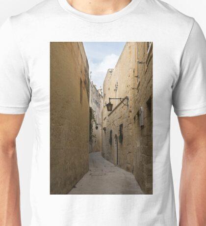 The Silent City - Mdina, the Ancient Capital of Malta Unisex T-Shirt