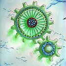 Green Cogs by HolyOther