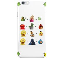 Angry Birds family tree iPhone Case/Skin
