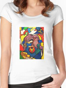 In Paradise  (ORIGINAL SOLD) Women's Fitted Scoop T-Shirt