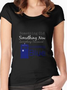 Something Blue Women's Fitted Scoop T-Shirt