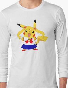 Sailor Pikachu Long Sleeve T-Shirt