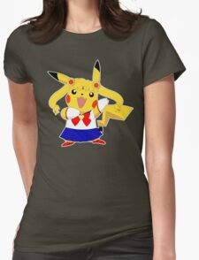Sailor Pikachu Womens Fitted T-Shirt
