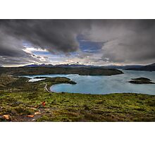 The Lakes of Torres del Paine #3 Photographic Print