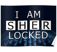SHERLOCKED - I AM SHER LOCKED Poster