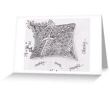 San-Doodle 013 Greeting Card