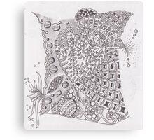 San-Doodle 009 Canvas Print